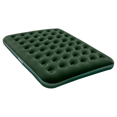 Bestway Flocked Air Mattress - Single High Queen (Green)