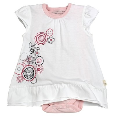 Burt's Bees Baby™ Baby Girls' 2 Piece Dress Set - Pink 0-3 M