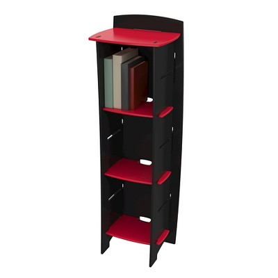 Kids Bookcase - Red/Black - Legare