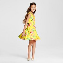 Lots of Love Girls' Sundress - Yellow