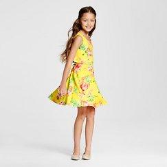 Lots of Love Girls' Sundress - Yellow