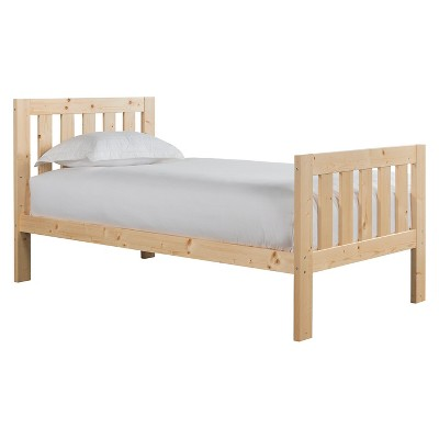 Canwood Lakecrest Full Bed - Natural