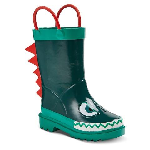 toddler boys hugh boots green target