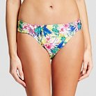 Women's Bikini Brief Bottom Yellow Floral - L - Marie Meili