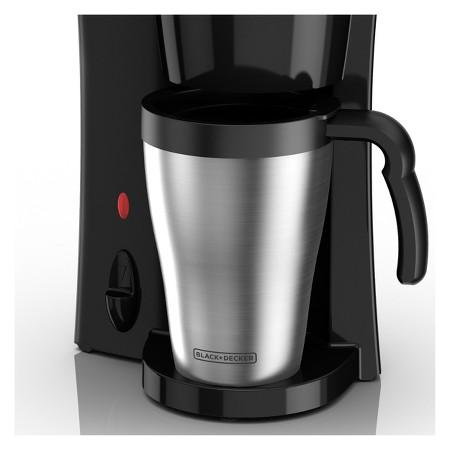 BLACK + DECKER Brew n Go Personal Coffee Maker and 15-oz Travel Mug : Target