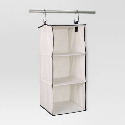 3-Shelf Hanging Closet Organizer Shell - Threshold™