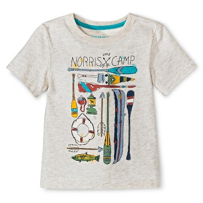 Baby Boys' T-Shirt - Gray 12 M - Genuine Kids™ from OshKosh®