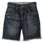 Toddler Boys' Jean Short - Dark Blue 2T