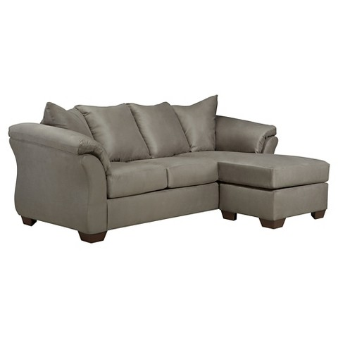 Darcy sofa chaise ashley furniture target for Ashley furniture chaise lounge prices