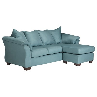 Darcy Sofa Chaise - Sky - Signature Design by Ashley