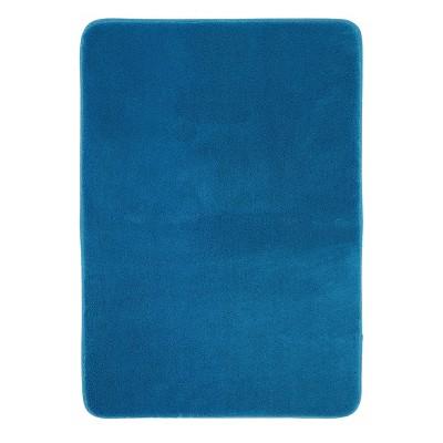 """Mohawk Velveteen Memory Foam - Teal Blue (17""""x24"""")"""