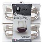 Reserv Stemless Plastic Wine Glasses, 8ct.