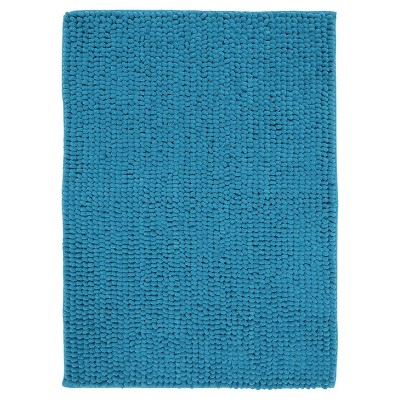 "Mohawk Looped Memory Foam - Teal Blue (17""x24"")"