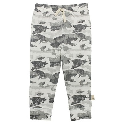 Burt's Bees Baby Infant Boys' Sweat Pant - 0-3M Camo