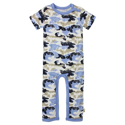 Burt's Bees Baby Infant Boys' Coverall - 0-3M Camo