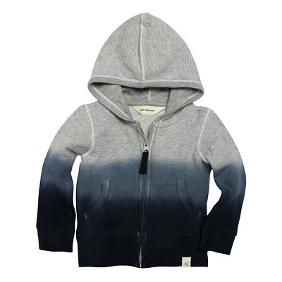 Burt's Bees Baby Infant Boys' Dip Dye Hoodie - 0-3M Midnight
