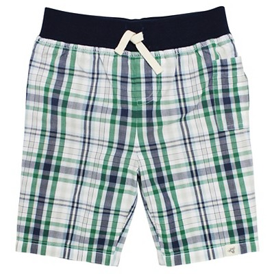 Burt's Bees Baby Infant Boys' Plaid Short - 12M Multi