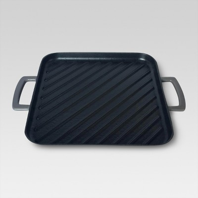 "Threshold™ 10"" Square Griddle Pan - Grey"