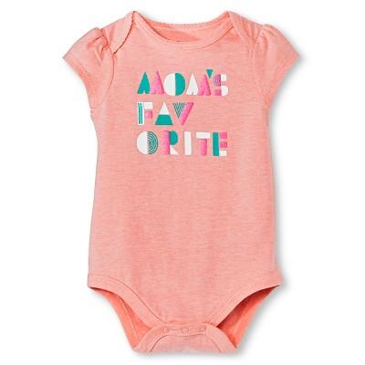 Circo™ Baby Girls' Bodysuit - Pink 6-9 M