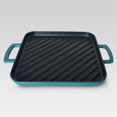 "Threshold™ 10"" Square griddle pan Trout Stream"