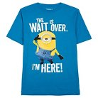 Minions® Despicable Me Boys Throwback Graphic T-Shirt Blue - S