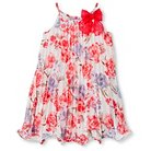 Toddler Girls' Floral Dress White 2T - Cherokee®
