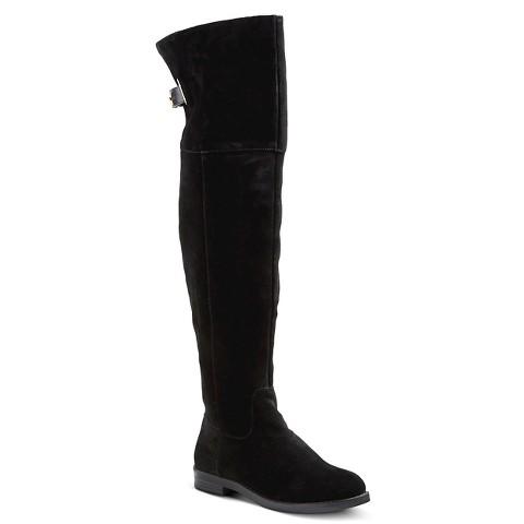 s tessie fashion boots merona black target