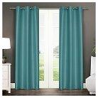 Exclusive Home Antique Curtain Panels - Set of 2 Panels