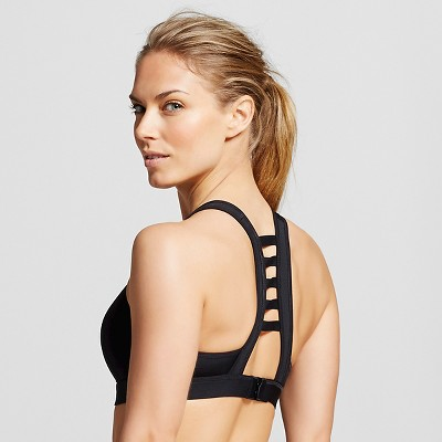 C9 Champion® Women's Power Shape Strappy-Back Sports Bra - Black S