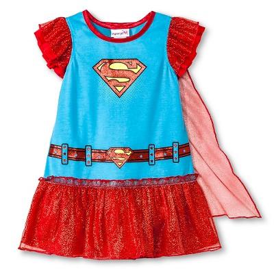 Toddler Girls' Supergirl Nightgown 3T