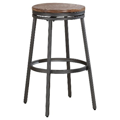 "Stockton 25"" Counter Stool Metal/Slate - American Woodcrafters"