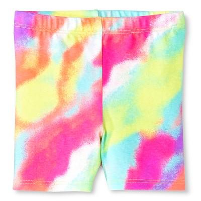 Baby Girls' Tie Dye Print Bike Short Multi-colored 12M - Circo™