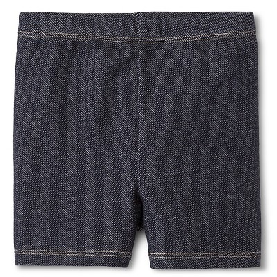 Baby Girls' Bike Short Dark Faux Denim 18M - Circo™