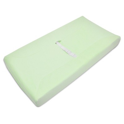 TL Care® Organic Cotton Terry Changing Table Cover Celery