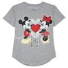 Girls' Plus T-Shirts Minnie  - Gray M
