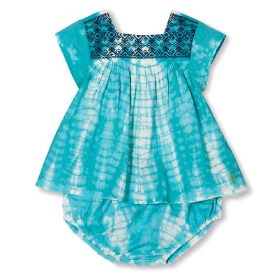 A Line Dresses Blue  tide Pink Chicken 3-6 M