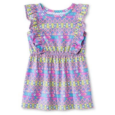 Baby Girls' Sleeveless T-Shirt Dress Blue 12M - Circo™
