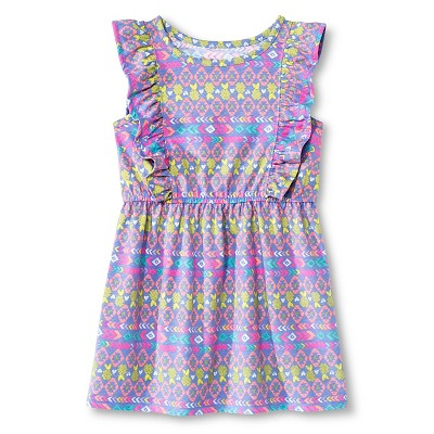 Toddler Girls' Sleeveless T-Shirt Dress Blue 3T - Circo™