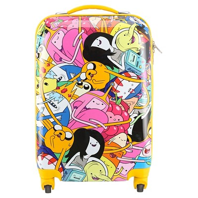 Adventure Time 26  Spinner Luggage with TSA Lock - Yellow