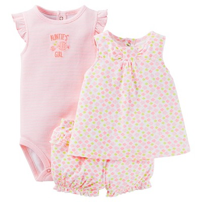 Just One You™Made by Carter's® Newborn Girls' Diaper Cover Set - Pink/Multi 9M