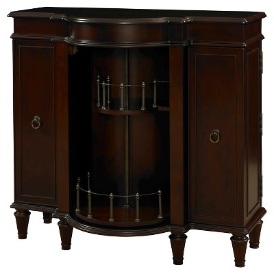 Bombay Regents Bar Wood/Antique Walnut
