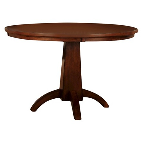 block pedestal round dining table antique dark oak product details