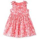 Toddler Girls' Floral Sleeveless Sun Dress Pink 6 - Cherokee®
