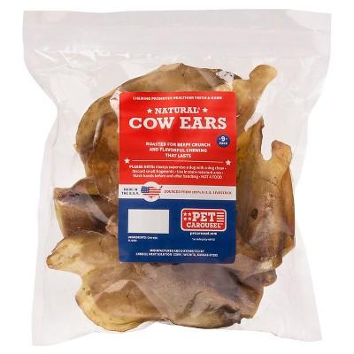 Pet Carousel Cow Ear 9ct Bag