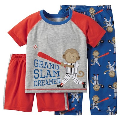 Baby/Toddler Boys' 3-Piece Pajama Set 2T - Just One You™ Made by Carter's®