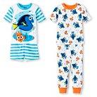 Finding Dory Toddler Boys' 4-Piece Pajama Set Blue