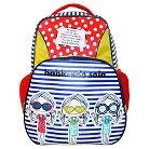 """Hablando Sola 16"""" Trio Girls Kids Backpack - Multicolor"""