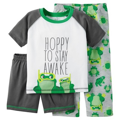 Baby/Toddler Boys' 3-Piece Pajama Set 18M - Just One You™ Made by Carter's®