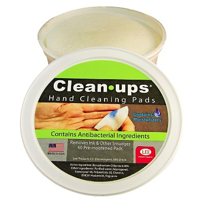 Clean Ups Hand  Cleaning Pads - 60 Count