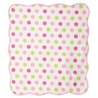 CoCaLo Audrey Crib Coverlet - Jumbo Dot/Dottie - Pink Multi